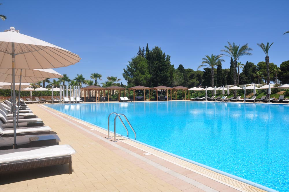 Green paradise resort otranto for Hoteles salamanca con piscina